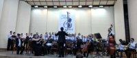 Отчётный концерт студенческого симфонического оркестра «по страницам классики…»